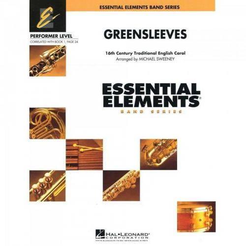 Greensleeves Score Parts Essencial Elements