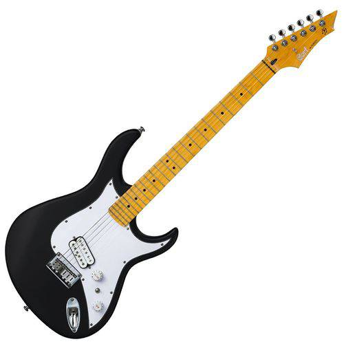 Guitarra 6 Cordas Signature Black Satin Garage 1 Bks/b Cort