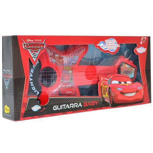 Guitarra Baby Carros 2 Disney Pixar - Yellow