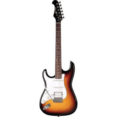 Guitarra Canhota Eagle Sts002 Strato - Sunburst