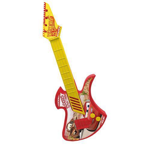 Guitarra Infantil Plast Carros