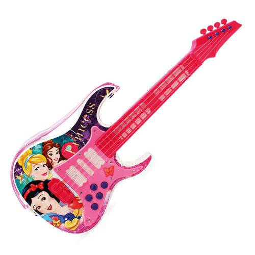 Guitarra com Luz - Princesas Disney - Toyng