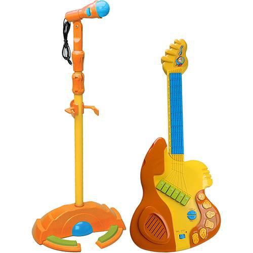 Guitarra do Peixonauta C/Microfone - Candide