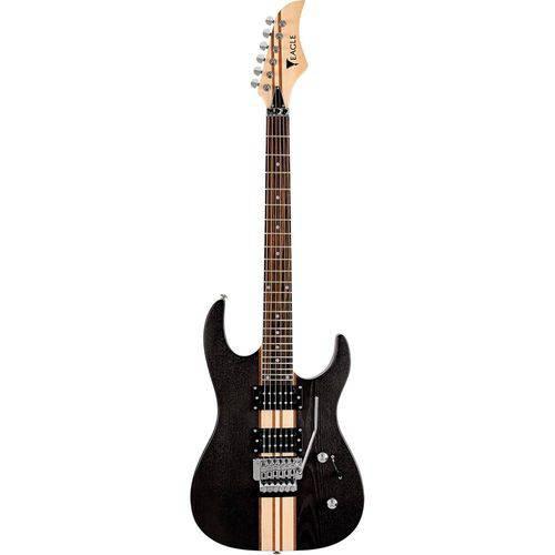Guitarra Eagle Egt61 com Floyd Rose - Satin Black