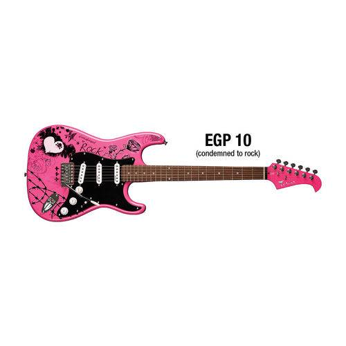 Guitarra Eagle Strato Egp10 -cr