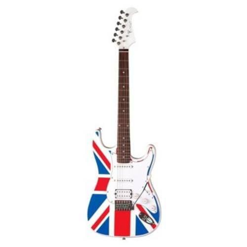 Guitarra Eagle Sts002 Uk Flag Britânica Stratocaster