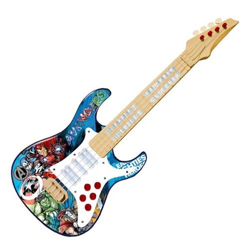 Guitarra Elétrica Infantil Vingadores Guerra Infinita Toyng 30557