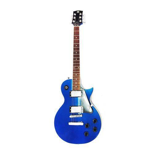 Guitarra Eletrica Schieffer - Les Paul - Azul Metalica #SCHEG-001-LP-MB