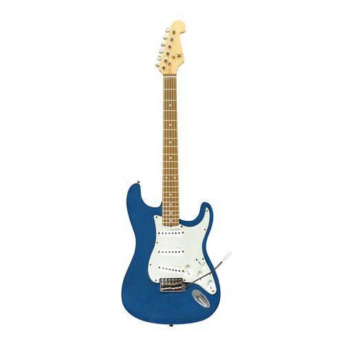 Guitarra Eletrica Schieffer - Strato - Azul Metalica #SCHEG-002-MBL