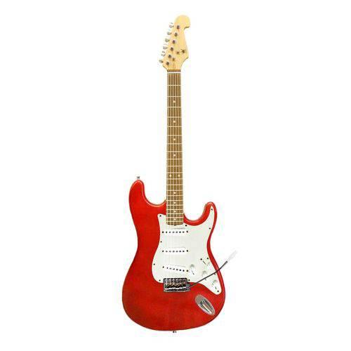 Guitarra Eletrica Schieffer - Strato - Vermelha Metalica #SCHEG-002-MRD