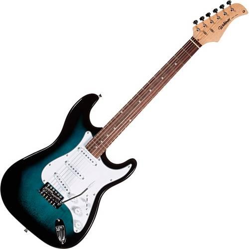 Guitarra Elétrica Stratocaster Azul St-111 Waldman