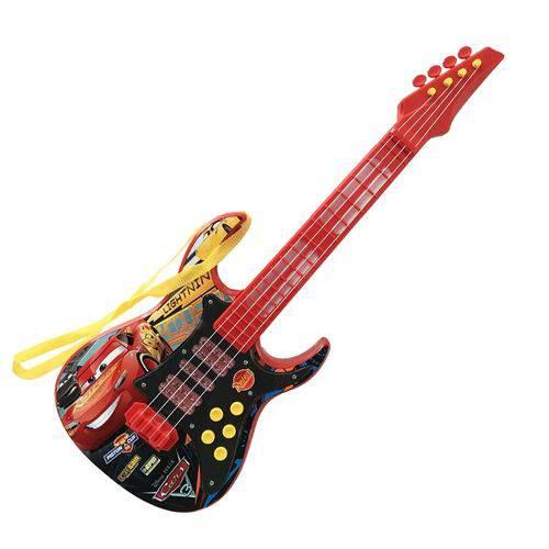 Guitarra Eletrônica Carros 3 Disney - Toyng 30568