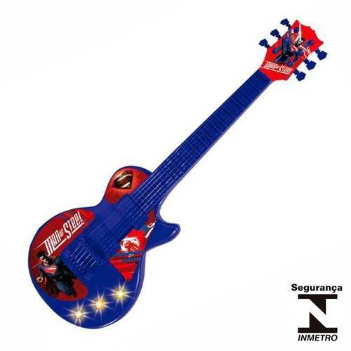 Guitarra Eletrônica Infantil Superman Man Of Steel 32745 Conthey