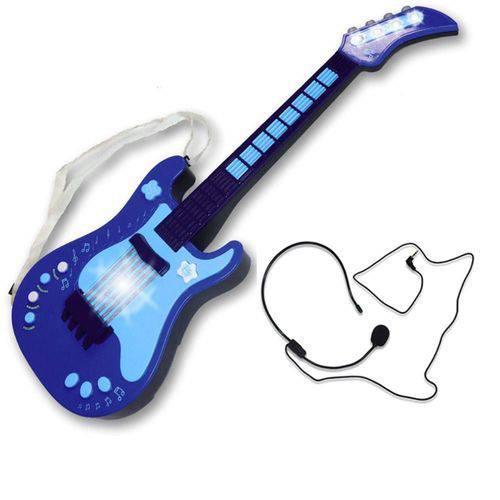 Guitarra Eletrônica o Primeiro Grande Show Azul