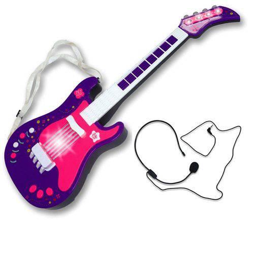 Guitarra Eletrônica o Primeiro Grande Show Roxa