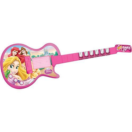 Guitarra Eletrônica Princesas - Yellow
