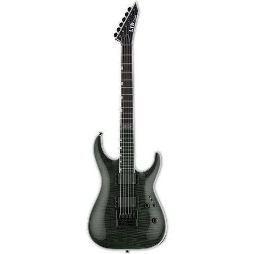 Guitarra ESP LTD MH-1000ET FM   EMG   EverTune   See Thru Black (STBLK)