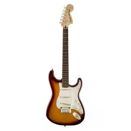 Guitarra Fender Squier Standard Stratocaster Fmt Rw 520 - Amber Burst