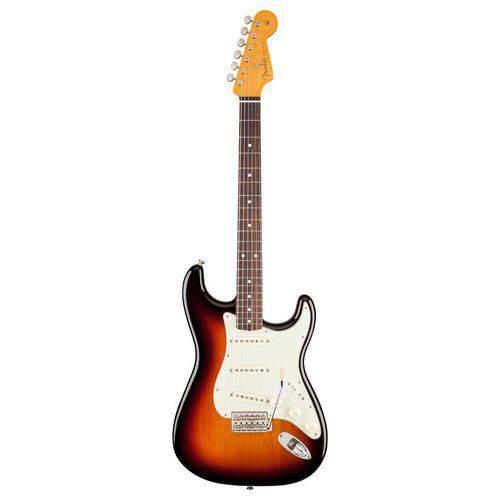 Guitarra Fender 014 0062 - 60s Stratocaster Lacquer Rw - 700 - 3-Color Sunburst