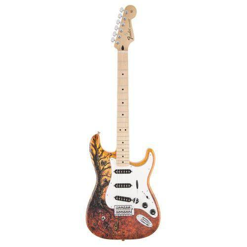 Guitarra Fender 014 1003 - Standard Stratocaster David Lozeau Art - 350 - Tree Of Life