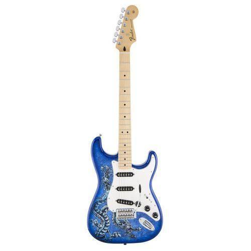 Guitarra Fender Standard Stratocaster David Lozeau Art Dragon
