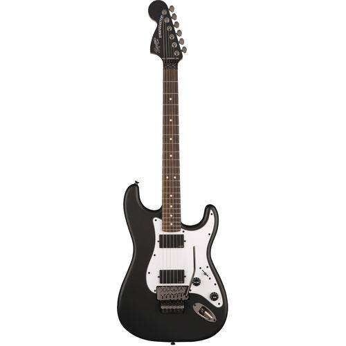 Guitarra Fender Squier Contemporary Stratocaster FR HH LR   037 0327   Black Flat (510)