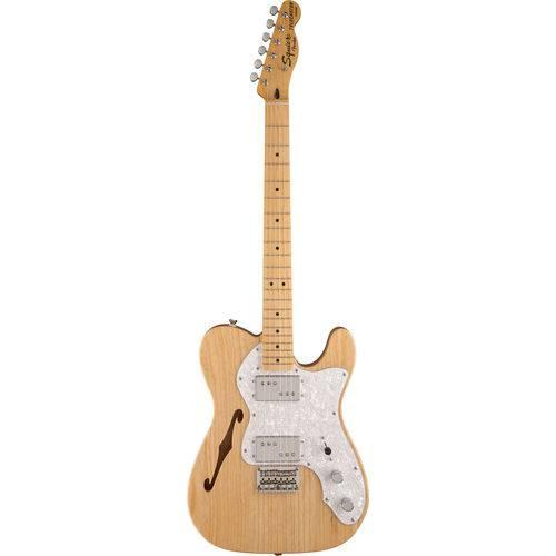 Guitarra Fender Squier Vintage Modified Telecaster Thinline 72s 521 - Natural