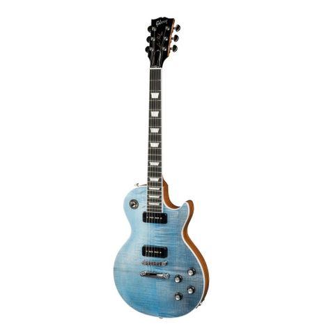 Guitarra Gibson Les Paul Classic Player Plus 2018 Satin Ocean Blue