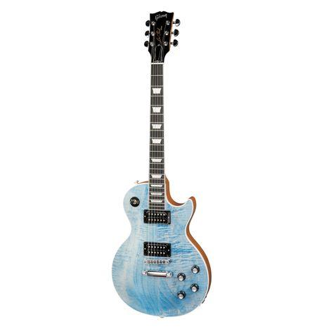 Guitarra Gibson Les Paul Signature Player Plus 2018 Satin Ocean Blue