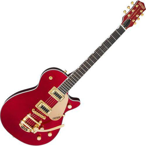 Guitarra Gretsch G5435tg Ltd Electromatic Pro Jet Gold Bigsby Candy Apple Red