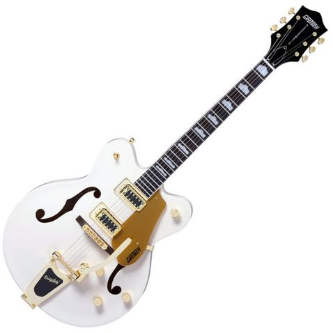 Guitarra Gretsch G5422tdcg Electromatic Hollow Body Double Cutaway Gold Snow Crest