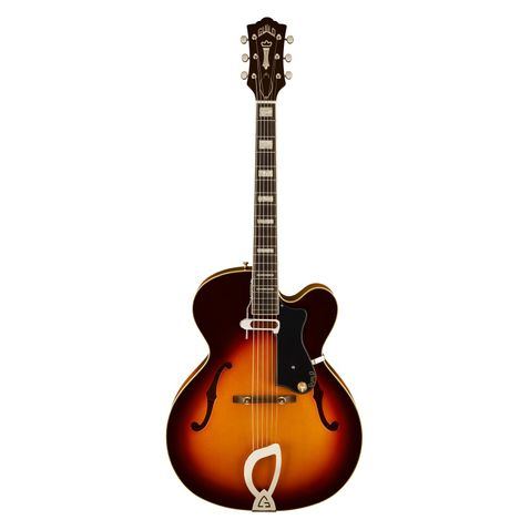 Guitarra Guild A150 Savory Atb W/c Antique Sunburst.