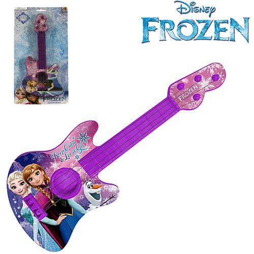Guitarra Infantil Acustica Pequena na Cartela Frozen