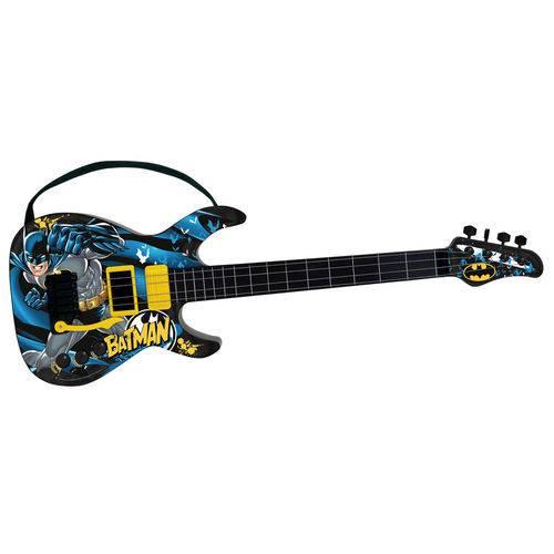 Guitarra Infantil - Dc Comics - Batman - Fun