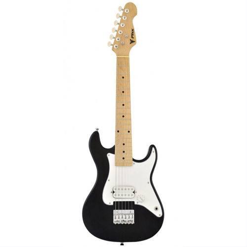 Guitarra Infantil Strato Jr Preta Phoenix