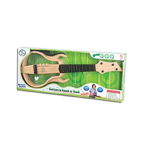 Guitarra Infantil Rock And Roll Laranja Fênix