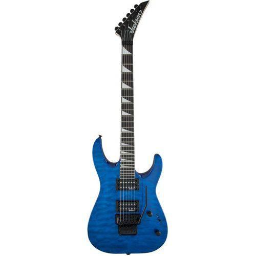 Guitarra Jackson Dinky Arch Top Js32q - Transparent Blue