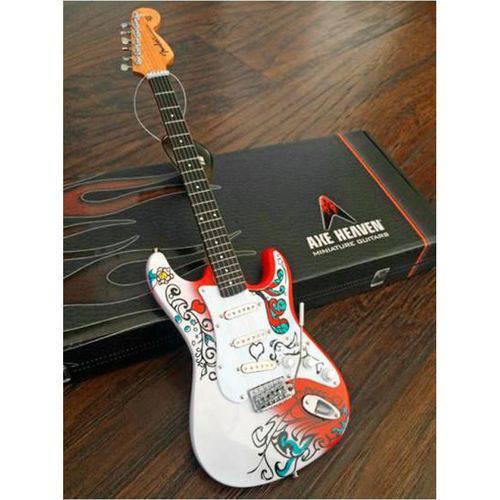 Guitarra Miniatura Axe Heaven Strat Monterey Jimi Hendrix Jh-801