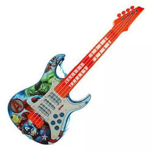 Guitarra Musical Infantil Vingadores Toyng Ref 30557