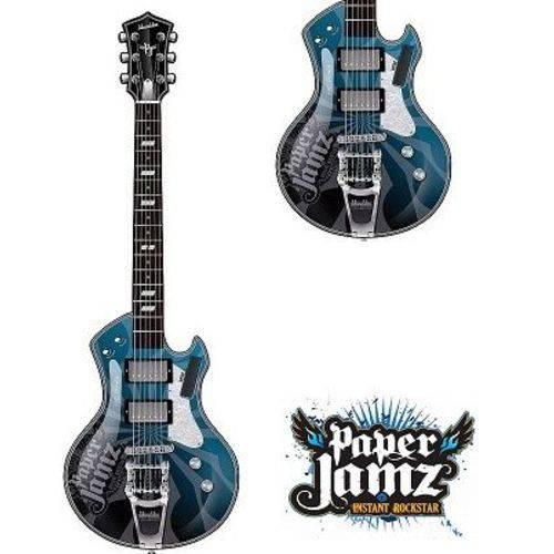 Guitarra - Paper Jamz Yellow Toutch