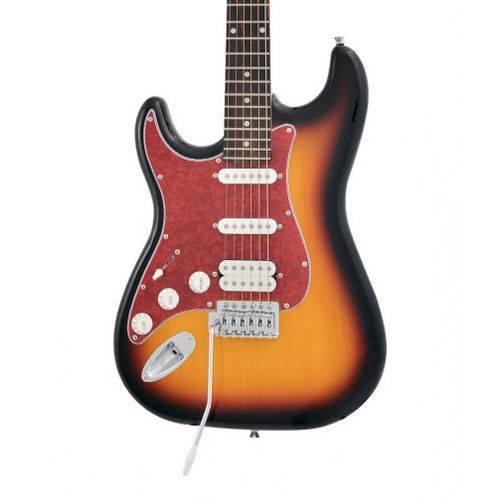 Guitarra Phx Strato Power St H Sth Canhoto Sunburst