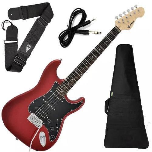 Guitarra Phx Strato Power St H Sth Cor Vermelho Vinho + Capa