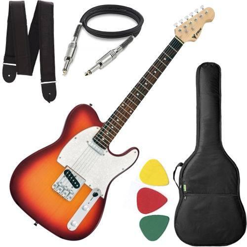 Guitarra Phx Telecaster Tl 1 Tl1 Sunburst Capa Cabo