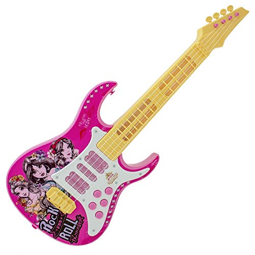 Guitarra Princesas Disney Toyng com Luz Rosa - 29303