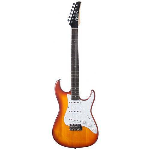 Guitarra Seizi Vision Strato | SSS | Bag | Honey Burst