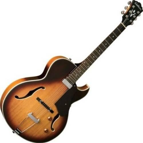 Guitarra Semi Acústica com Bag Hb15cts Washburn