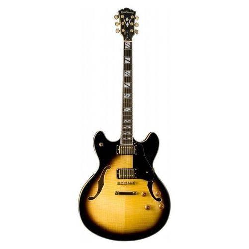Guitarra Semi Acustica Tabacco Sunburst - Hb35ts - Washburn