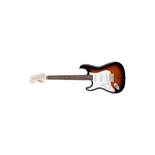 Guitarra Squier Affinity Strat Lh Brown Sunburst