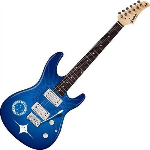Guitarra Strato do Cruzeiro Gtu-1 Waldman