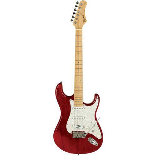 Guitarra Strato T-805 E/PP TR Vermelho Transparente - Tagima